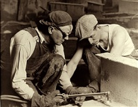 two laborers by lewis wickes hine