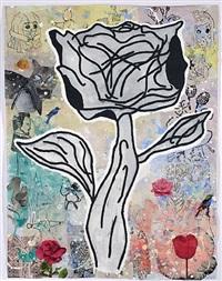 david's flower by donald baechler