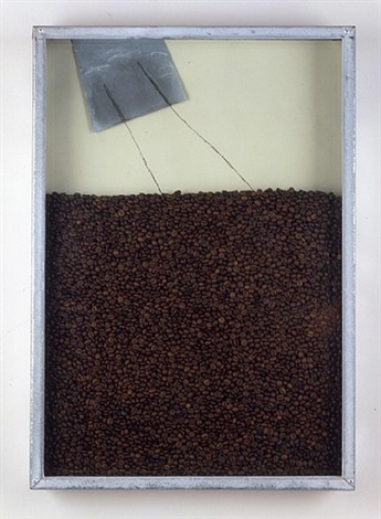 untitled (coffee) by jannis kounellis