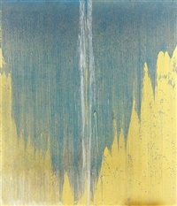 mountain rain by pat steir