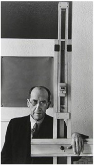 piet mondrian, new york by arnold newman