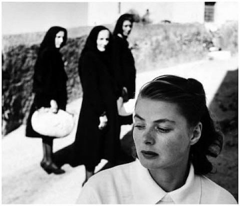 ingrid bergman at stromboli by gordon parks