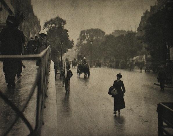 a snapshot; paris by alfred stieglitz