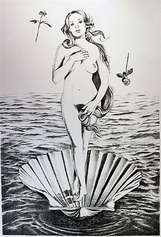 birth of venus by mel ramos