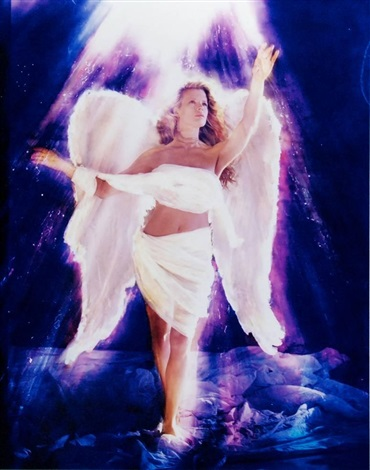 kim basinger as an angel by david lachapelle