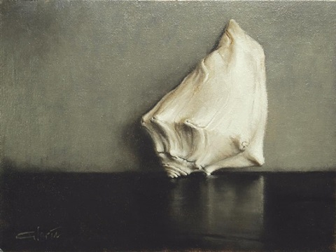 white shell (sold) by lisa gloria