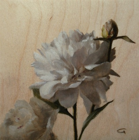 peonies (sold) by lisa gloria