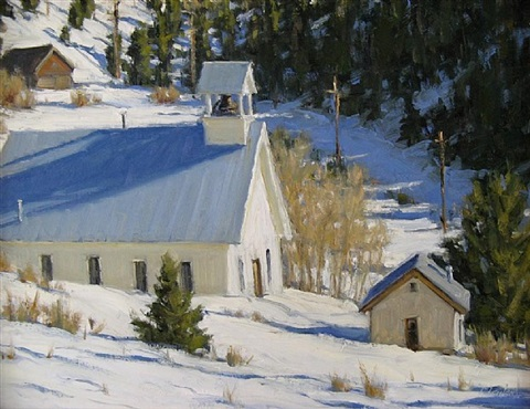 fresh snow by carol jenkins