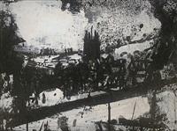 landscape 207 by john virtue