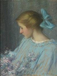 youth (portrait of alice morley meyers) by hugh henry breckenridge