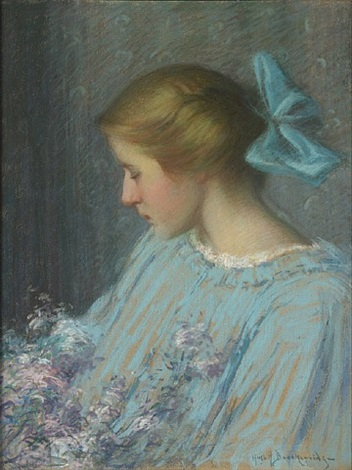 youth (portrait of alice morley meyers) by hugh henry breckenridge