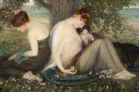 garden of hesperides by albert herter