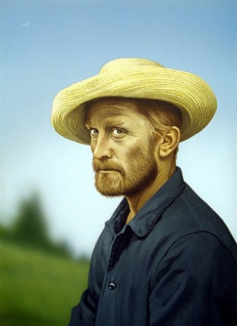 kirk douglas as vincent van gogh, lust for life, 1956 by arthur k. miller