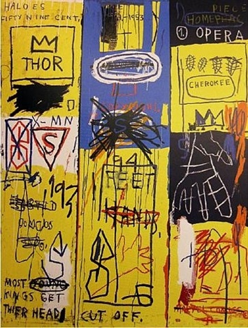 charles the first by jean michel basquiat