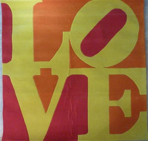 love (chosen love tapestry) by robert indiana