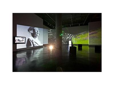 installation view by nadia hironaka & matthew suib