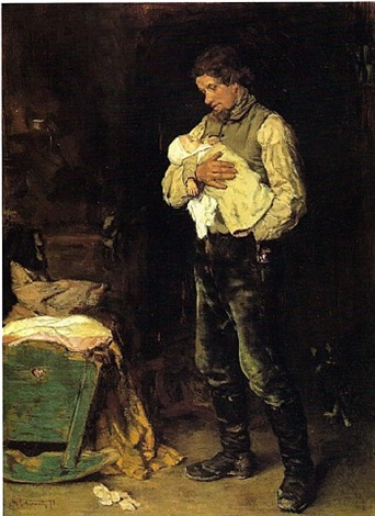 der witwer by max liebermann