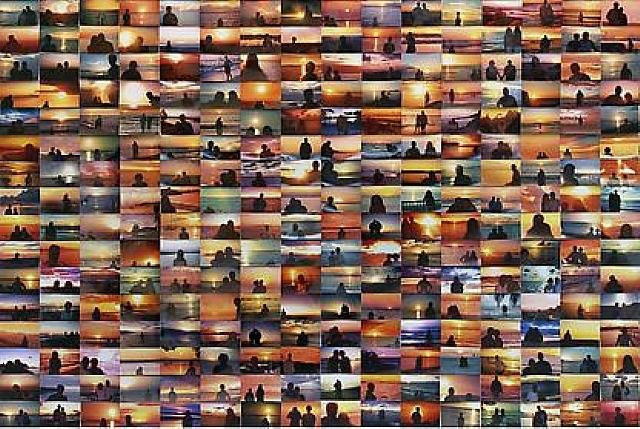 sunset portraits by penelope umbrico