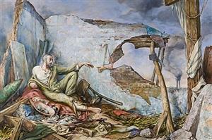 creation of wartime iii by samuel bak