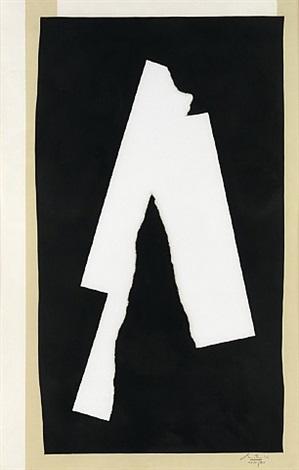 black sounds by robert motherwell