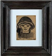 tete de fillette by théophile alexandre steinlen
