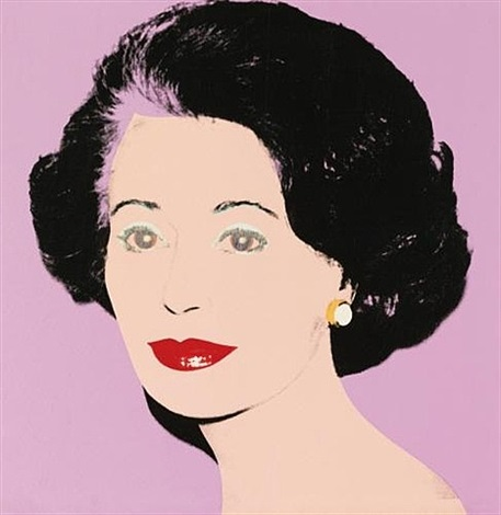 gautana (ambassadress) by andy warhol