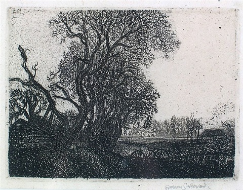 barrow hedges farm by graham sutherland