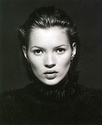kate moss, portrait, paris by marc hispard