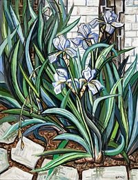 irises by david bates