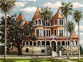 moody mansion i by david bates