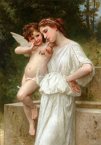 secrets de l'amour by william adolphe bouguereau