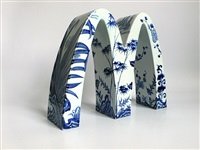 mcdonald's - four gentlemen (plum, iris, bamboo and chrysanthemum) by li lihong