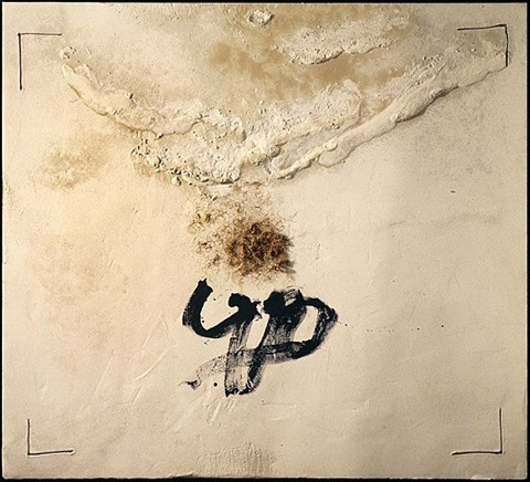 extensio by antoni tàpies
