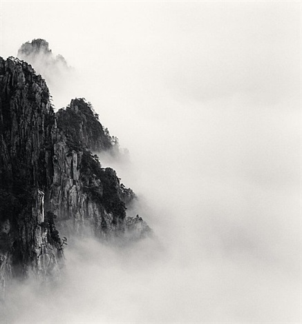 huangshan mountains, study 6, anhui, china, 2008. by michael kenna