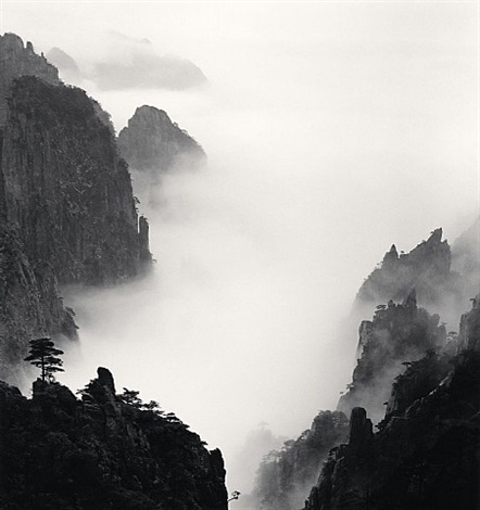 huangshan mountains, study 8, anhui, china, 2008. by michael kenna