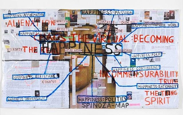 spinoza map by thomas hirschhorn