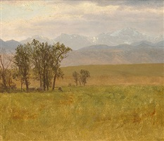 mt. rosalie, rocky mts. by albert bierstadt