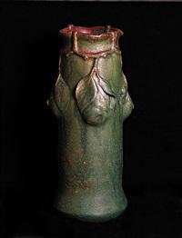 pear vase by fachschule teplitz