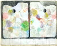 2 palettes by jim dine