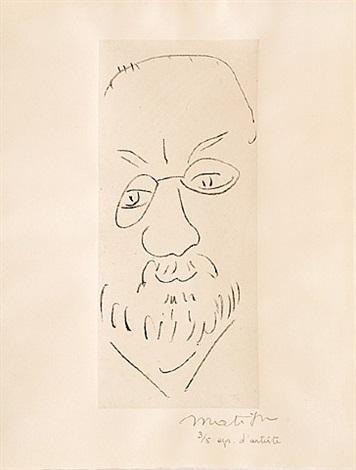 autoportrait by henri matisse
