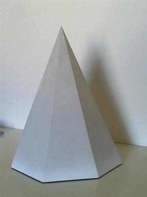 pyramid vi by sol lewitt
