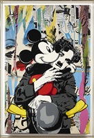 charlie & mickey by mr. brainwash
