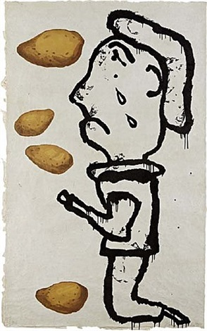 potato print by donald baechler