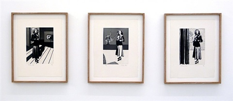 patricia knight i-iii by richard hamilton