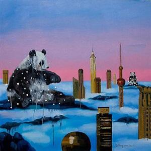 city no 2 by li shuguang