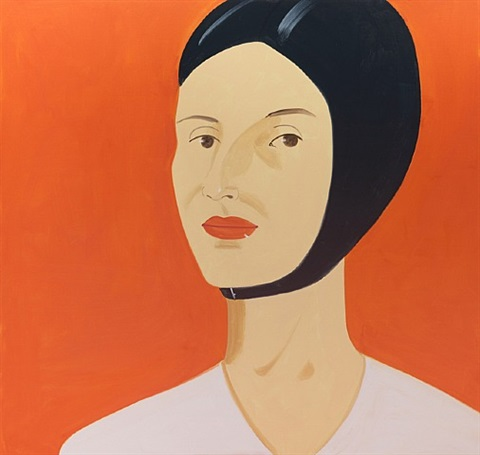 ada in bathing cap by alex katz