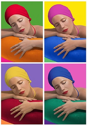 serena with cap suite of 4 by carole a. feuerman