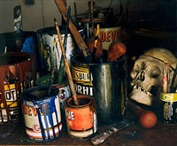 pollock studio, long island by evelyn hofer