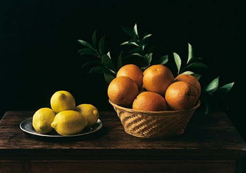 hommage à zurbarán (still life no. 6), new york by evelyn hofer