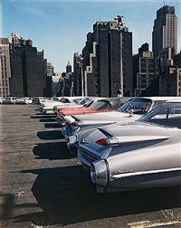 car park, new york by evelyn hofer